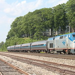 Southbound Amtrak Empire Service