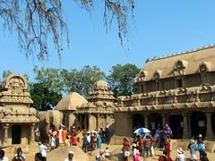 Five Rathas Mamallapuram