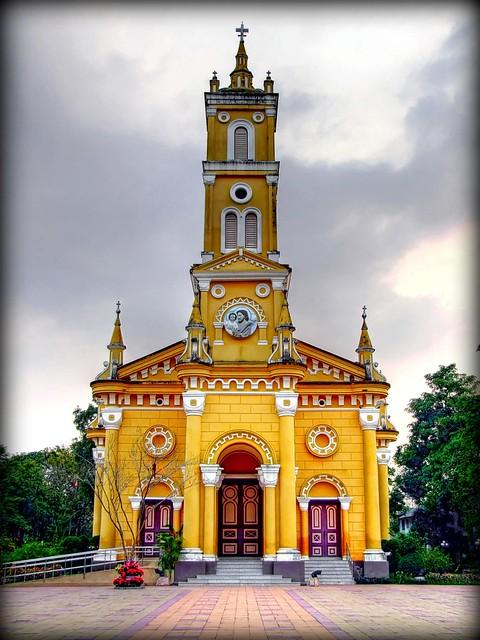 St Joseph S Church 300 Years Ayutthaya Flickr