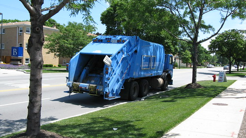 City of Chicago Department of Streets and Sanition Autocar heavy duty garbage truck. River Grove Illinois. June 2010. by Eddie from Chicago