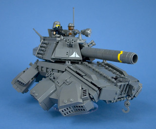 Iron Mountain Legion - Prototype Hover Tank - 07