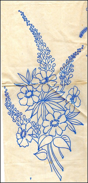 Vintage embroidery from my collection of transfers
