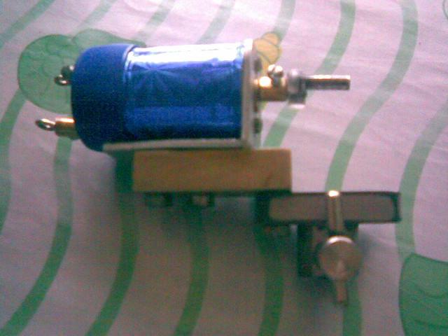 My homemade tattoo machine flickr photo sharing for How to make a home made tattoo machine