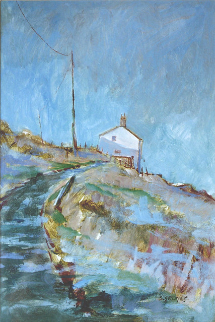Cliff Path, Staithes - Acrylic Painting by Steve Greaves
