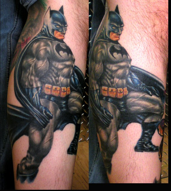 BATMAN by Beto Munoz Of Monkeyproink.com