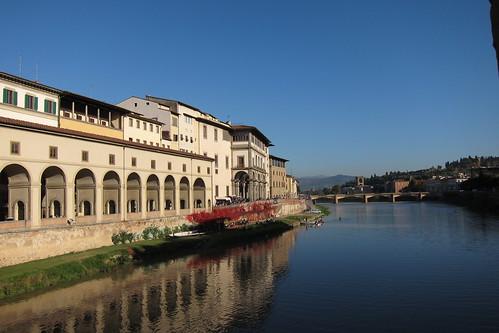 Ufizzi Corridor~Arno River
