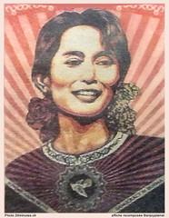 Affiche Aung San Suu Kyi
