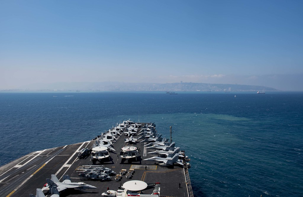 GHWB, part of the George H.W. Bush Carrier Strike Group (GHWBCSG), is conducting naval operations in the U.S. 6th Fleet area of operations in support of U.S. national security interest in Europe and Africa.