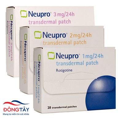 Neupro - thuốc điều trị bệnh parkinson dạng dán dưới da