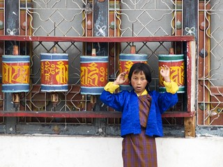 People of Bhutan - Paro