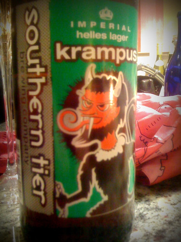 Southern Tier Krampus: best beer name & label ever?