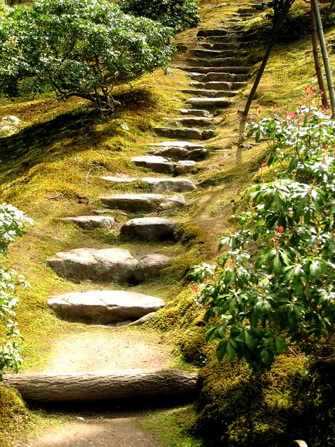Japanese style stone steps a gallery on flickr shagaku in steps near rinun teig workwithnaturefo
