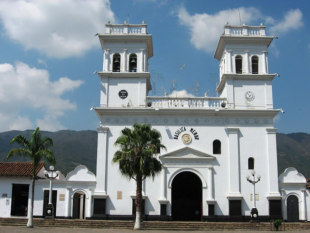 Iglesia de Girón. Santander, Colombia