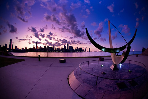 Chicago from Planetarium