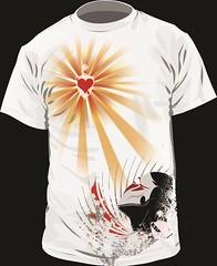 font(0.0), shirt(0.0), brand(0.0), clothing(1.0), white(1.0), sleeve(1.0), graphic design(1.0), illustration(1.0), t-shirt(1.0),