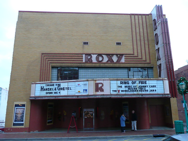 Clarksville, TN Roxy Theater front | Flickr - Photo Sharing!