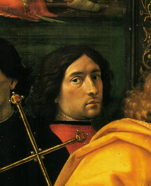 Domenico Ghirlandaio - Self-portrait