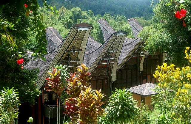 Download this Rumah Tongkonan Toraja picture