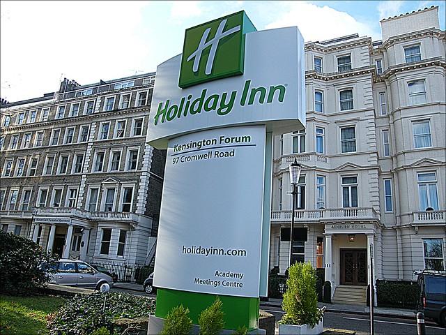 holliday inn kensington: