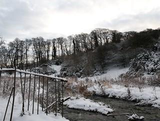 Braid Burn in Winter