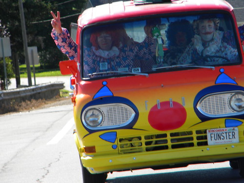 Clown Bus by guthrieschroeder