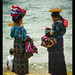 Indigenous women visiting Lake Atitlan