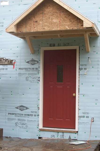 Front Deck Overhang And New Front Door Flickr Photo