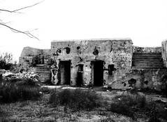 Battery Croghan, Fort San Jacinto, Galveston, Texas 0116101733BW