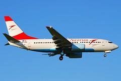 Austrian Airlines Boeing 737-700; OE-LNN@ZRH;09.08.2008/525df