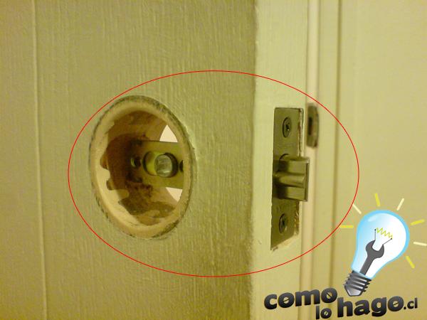 Como cambia la chapa de una puerta taringa for Como se hace una puerta de tambor