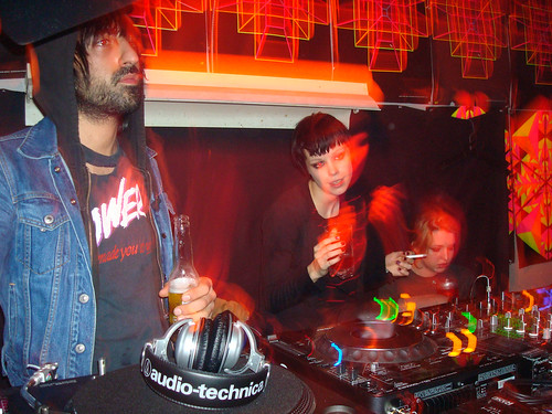 Crystal Castles Dj Set @ The wrong bar, Nov 2008, Toronto, On.
