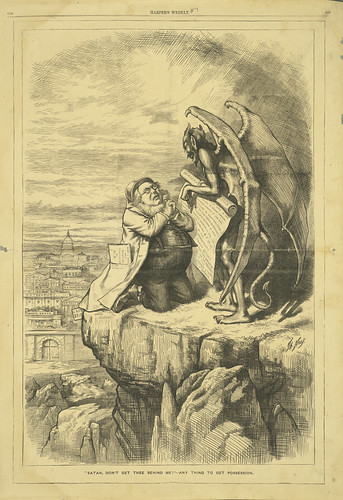 """""""Satan, Don't Get Thee Behind Me!"""" - Any Thing to get Possession"""