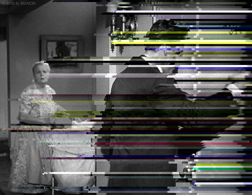 Glitch Art: I don't think you fully understand, Bigelow. You've been murdered.