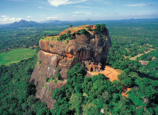 The Sigiriya Rock Fortress - Colombo, Sri Lanka