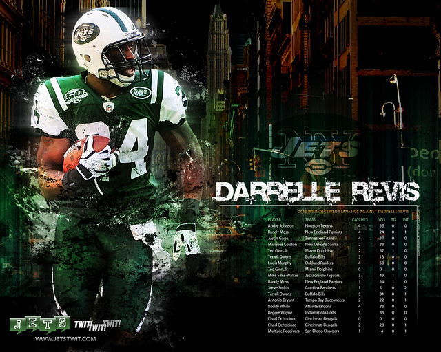 Jets Twit: Darrelle Revis - NEW YORK JETS - Wallpaper | Flickr ...