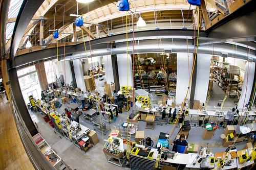 Timbuk2's Folsom Street Factory