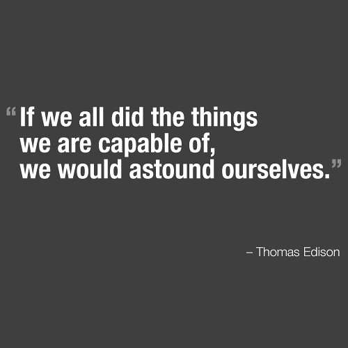 Thomas A. Edison Quotes - The Quotations.