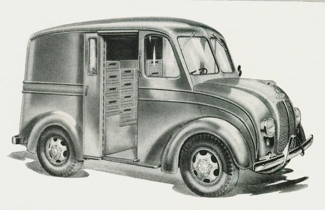 1949 Divco Delivery Truck Model UM-8