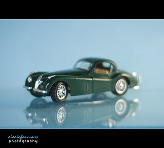 Still life - Modellism car reflection