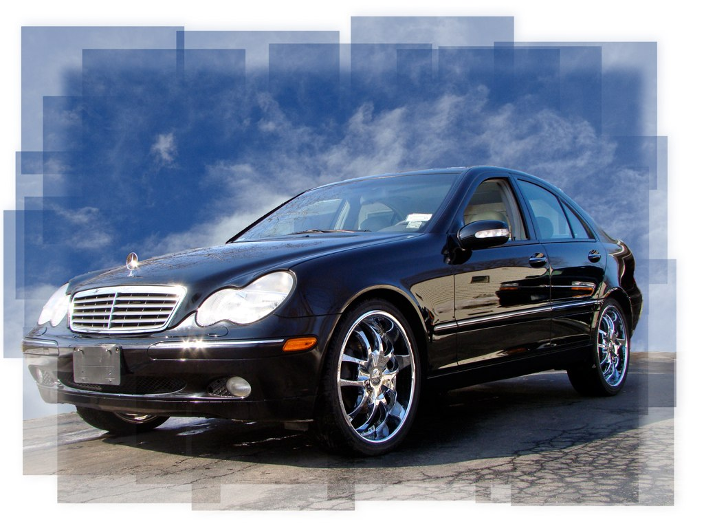 W203 c class pictures sticky page 97 mercedes benz forum for Mercedes benz c240 rims