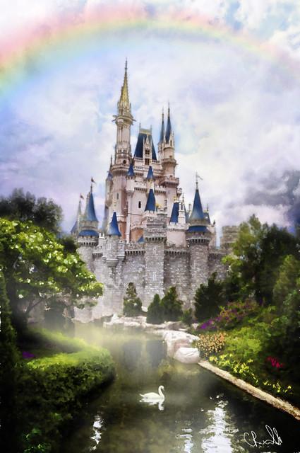 Cinderella Castle Painting | Flickr - Photo Sharing!