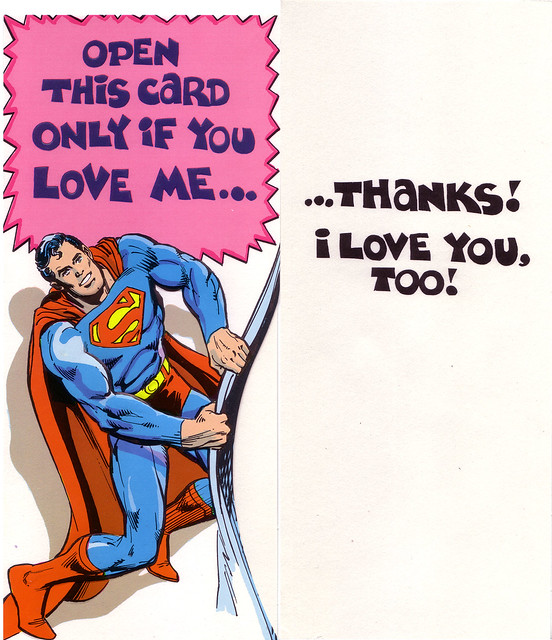 1978 Superman & Friends Greeting Cards