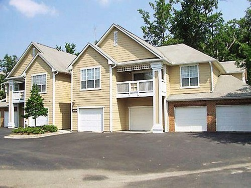 Attached garages for 2 3 bedroom apartments flickr for Apartment homes with attached garage