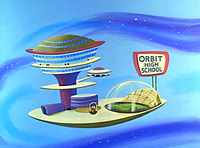 1962 ... The Jetsons, high school