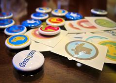 Foursquare Pins
