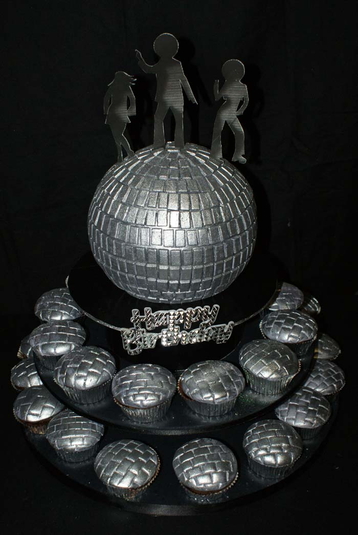 Cake Decorating Disco Ball : Image Disco Ball Cake Decorations Download