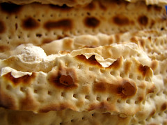 Matzah by Avital Pinnick via Flickr