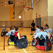 Small photo of Cadets play along side those with disabilities