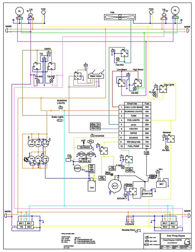 Auto Alarm Wiring Diagram Car Rev10