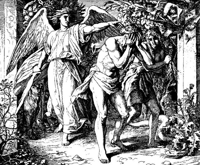 Adam and Even Expelled from Eden